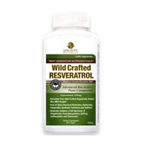 Wild Crafted Resveratrol 60 Vcaps By Genceutic Naturals