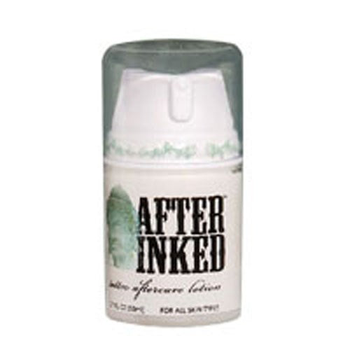 Tattoo Moisturizer & Aftercare Lotion 2.5 oz By After Inked