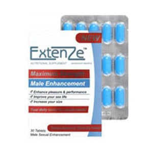 Male Enhancement Tablets 30 Tabs By Extenze