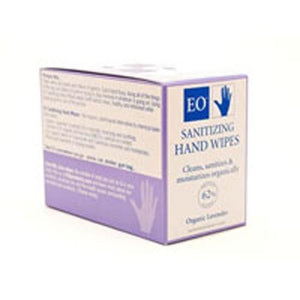 Cleansing Hand Wipes Lavender 10 CT By EO Products