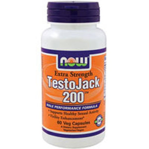 Testojack 200 Extra Strength 60 Vcaps By Now Foods