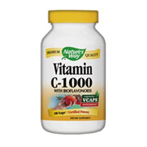 Nature's Way Vitamin C 1000 with Bioflavonoids, Bioflavonoids 100 Vcaps By Nature's Way