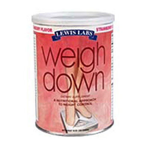 Weight Down Strawberry 16 oz By Lewis Labs