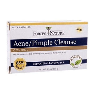 Bar Soap Acne Pimple Cleanse 3.5 oz By Forces of Nature