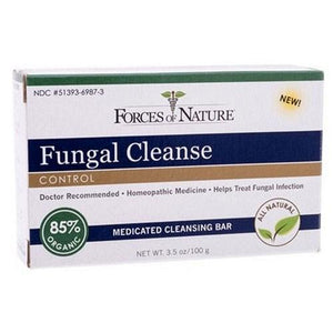 Bar Soap Fungal Cleanse 3.5 oz By Forces of Nature