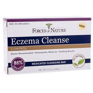 Bar Soap Eczema Cleanse 3.5 oz By Forces of Nature