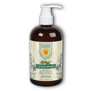 Liquid Hand Soap Rosemary Spearmint 12 oz By Sunfeather