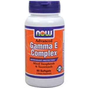 Advanced Gamma E 60 Sgels By Now Foods