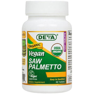 Vegan Saw Palmetto 90 vcaps By Deva Vegan Vitamins