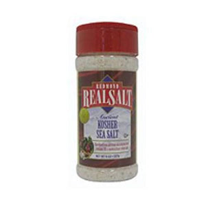 Nature's First Sea Salt Shaker Kosher Salt 10 oz By REAL SALT