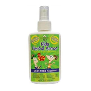 Phineas and Ferb Kids Herbal Armor Insect Repellent Spray 4 oz By All Terrain