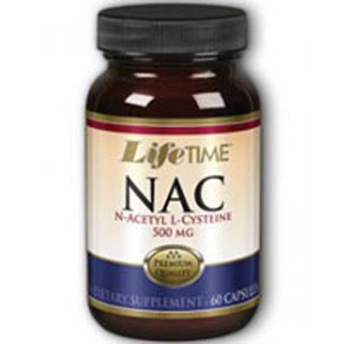 N-Acetyl L-Cysteine 60 caps By Life Time Nutritional Specialties