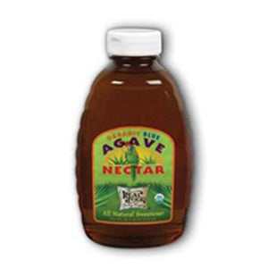 Organic Blue Agave Nectar Unflavored 16 oz By FunFresh Foods
