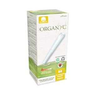 Organic Cotton Applicator Tampoons Regular 16 ct By Organyc
