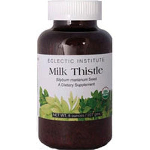 Milk Thistle Seeds 8 oz By Eclectic Institute Inc