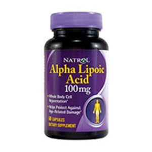 Alpha Lipoic Acid 60 Caps By Natrol