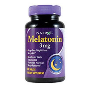 Melatonin 60 Tabs By Natrol