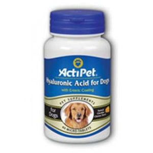 Hyaluronic Acid for Dogs Cheese 60 ct chews By ActiPet