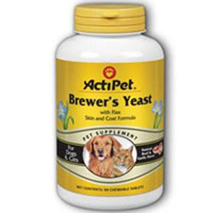 Brewer's Yeast For Dogs Beef, 90 ct chews By ActiPet