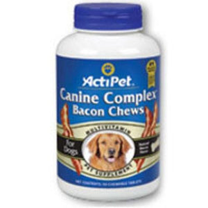 Canine Complex For Dogs Liver, 90 ct chews By ActiPet