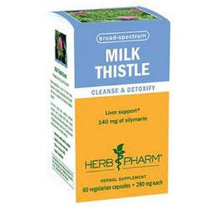 Milk Thistle 60 vcaps By Herb Pharm