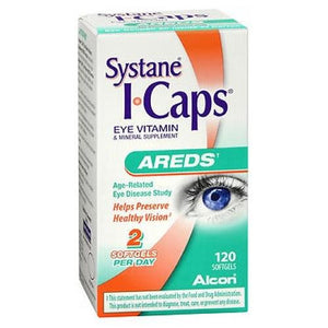Icaps Eye Vitamin Areds Formula 120 Softgels By Alcon