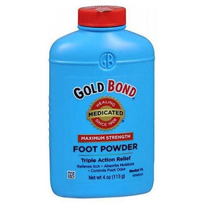Gold Bond Foot Powder Maximum Strength 4 oz By Gold Bond