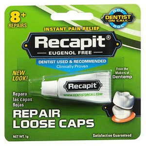 Recapit Cap And Crown Cement 1 g By Recapit