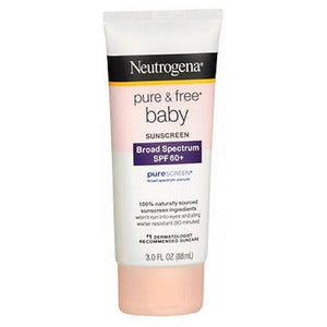 Neutrogena Pure Free Baby Sunblock Lotion Spf 60 3 oz By Neutrogena