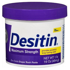 Desitin Maximum Strength Original Baby Diaper Rash Ointment 16 oz By Desitin