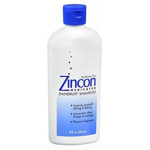 Zincon Medicated Dandruff Shampoo Medium 8 oz By Zincon