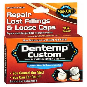 Dentemp Temporary Cavity Filling Mix 1 each By Dentemp