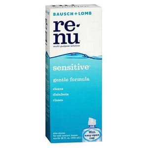 Bausch And Lomb Renu Multi Purpose Solution For Soft Contact Lenses 12 oz By Bausch And Lomb