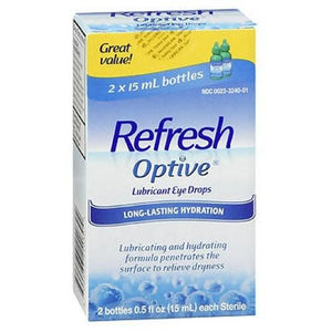 Refresh Optive Lubricant Eye Drops 1 oz By Refresh