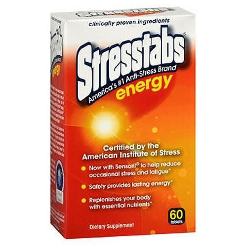 Stresstabs Energy Tablets 60 tabs By Allbee