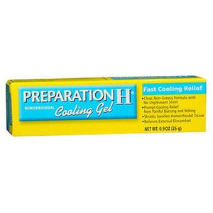 Preparation H Hemorrhoidal Cooling Gel 0.9 oz By Advil
