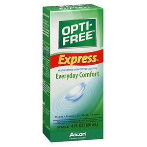 Opti-Free No-Rub Express Solution 4 oz By Opti-Free