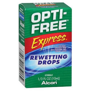 Opti-Free Express Rewetting Drops 10 ml By Opti-Free