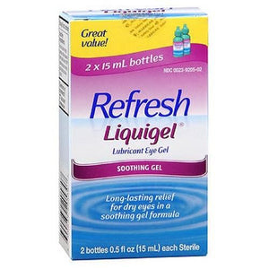 Refresh Liquigel Lubricant Eye Drops 2 X 15 ml By Refresh