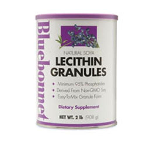 Lecithin Granules Non-Gmo 2 lb By Bluebonnet Nutrition