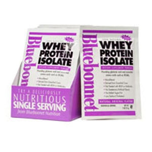 100% Natural Whey Protein Isolate Powder - Original Flavor 8-Pk BOX