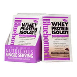 100% Natural Whey Protein Isolate Powder - Chocolate Flavor 8-Pk BOX
