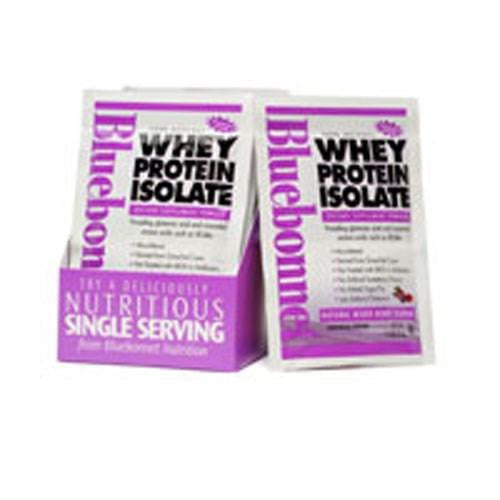 100% Natural Whey Protein Isolate Powder - Mixed Berry Flavor 8-Pk BOX