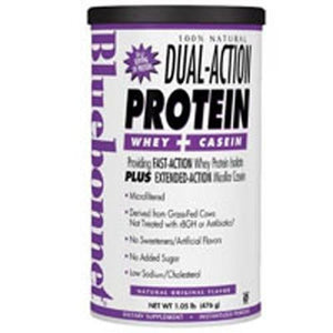 100% Natural Dual Action Protein Powder - Original Flavor 1.05 lbs
