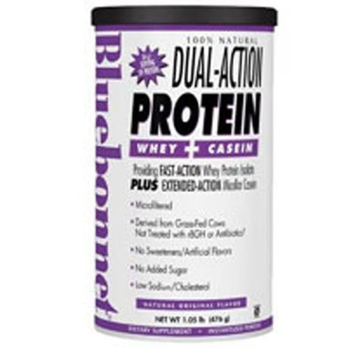 100% Natural Dual Action Protein Powder - Original Flavor 2.1 lbs