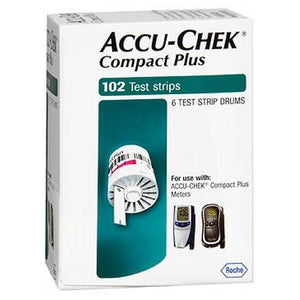Accu-Chek Compact Test Strips 102 each By Accu-Chek
