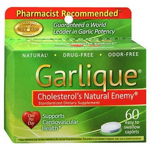 Garlique Dietary Supplement 60 caplets By Garlique