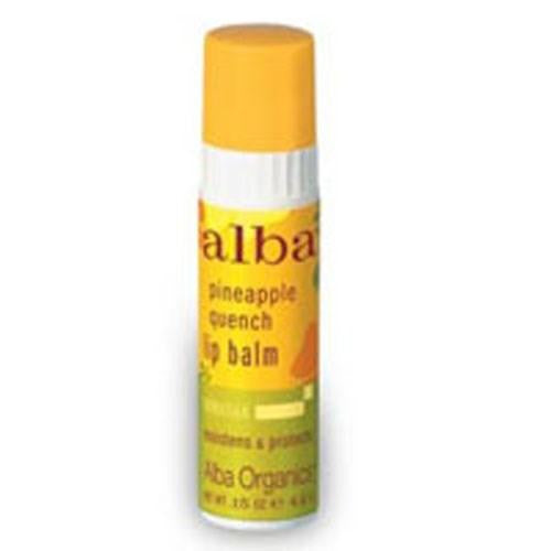 Lip Balm Pineapple Quench .15 OZ(case of 24) By Alba Botanica