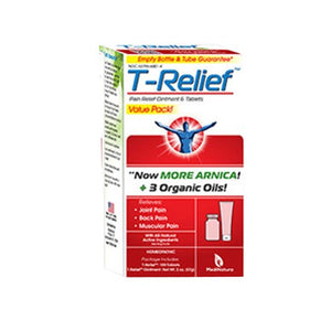 T-Relief Pain Value Pack Ointment and Tablets 2 multi By MediNatura