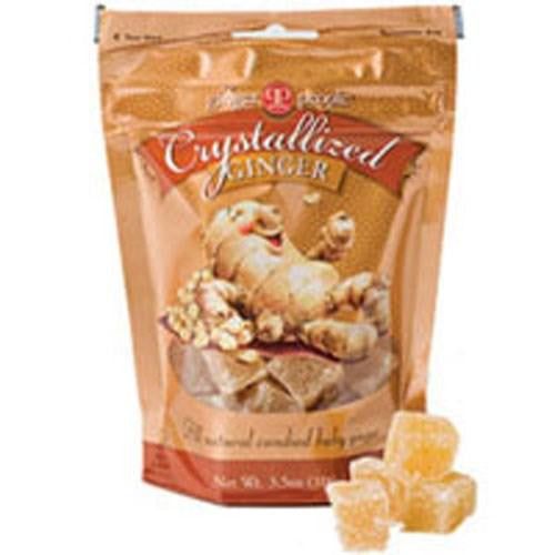 Ginger People Organic Crystallized Ginger 3.5 oz(case of 24) By GO Energy for the Skin